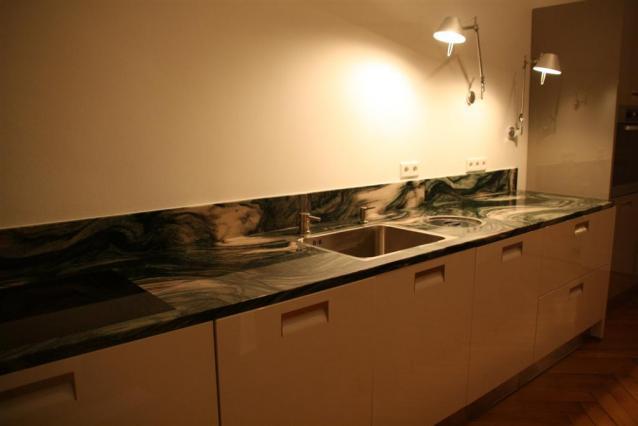 Küchen Design, Stein, Naturstein, Stein, edel, Küche, Luxus